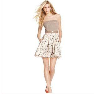 Rachel Roy Strapless Sailboat Sequin Dress Size 4